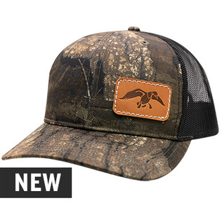 Duck Commander Realtree® Timber Leather Patch Hat