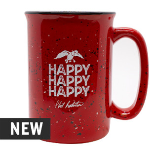 Happy Happy Happy Ceramic 12 oz. Mug