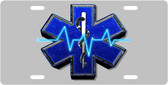 Medical Symbol License Plate Tag