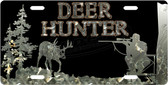 Deer Hunter Riffle License Plate Tag