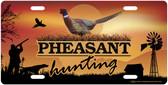 Pheasant Hunting License Plate Tag