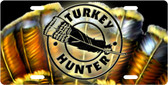 Turkey Hunter License Plate Tag