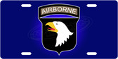 Airborne License Plate Tag