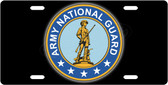 Army National Guard License Plate Tag
