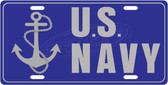 US Navy License Plate Tag