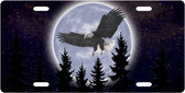 Night Eagle License Plate Tag