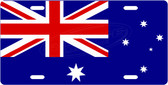 Australian Flag License Plate Tag