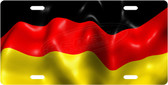 German Flag License Plate Tag