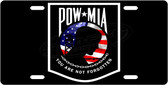 American POW License Plate Tag