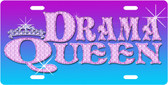 Drama Queen License Plate Tag