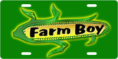 Farm Boy/Girl License Plate Tag