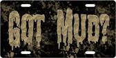 Got Mud License Plate Tag