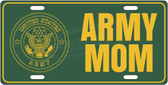Army Mom License Plate Tag