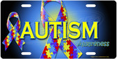 Autism Awareness License Plate Tag