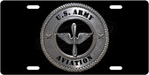 Army Aviation License Plate Tag