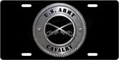US Army Cavalry License Plate Tag