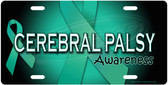 Cerebral Palsy Awareness License Plate Tag