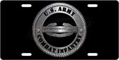 US Army Combat Infantry License Plate Tag