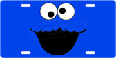Cookie Monster License Plate Tag