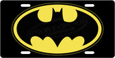 Batman License Plate Tag