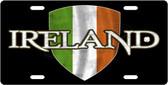 Ireland Shield License Plate Tag