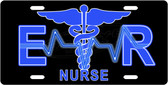 ER Nurse License Plate Tag