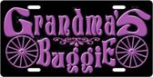 Grandma's Buggie License Plate Tag
