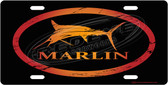 Marlin License Plate Tag