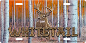 Whitetail Deer License Plate Tag