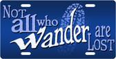 Wanderer License Plate Tag