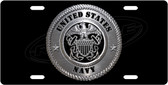 United States Navy Emblem License Plate Tag
