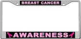 Breast Cancer Awareness License Plate Frame