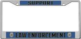 Law Enforcement License Plate Frame