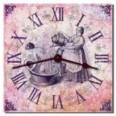 Vintage Bathroom Clock