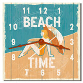 Beach Time Decorative Wall Clock