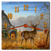 Buck Showdown Wall Clock