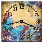 Butterfly Garden Clock
