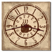 Coffee Shop Decorative Kitchen Clock