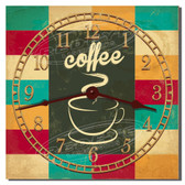 Coffee Time Decorative Kitchen Clock