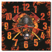 Firefighter Decorative Kitchen Wall Clock