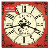 Classic Kitchen Personalized Decorative Wall Clock