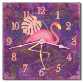 Flamingo Decorative Kitchen Wall Clock