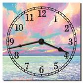 Sunrise Shoreline Decorative Kitchen Wall Clock