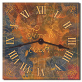 Cooking Time Decorative Kitchen Wall Clock