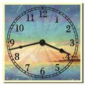 Tropical Beach Decorative Kitchen Wall Clock