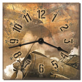 Vintage Aircraft Decorative Wall Clock