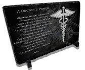 A Doctors Prayer Stone Plaque