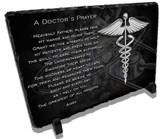 A Doctors Prayer Stone Plaque