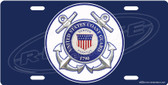 United States Coast Guard License Plate Tag