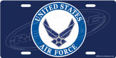 United States Air Force License Plate Tag